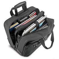 Solo-New-York-Gramercy-Rolling-Laptop-Bag-4-Wheel-Rolling-Briefcase-for-Women-and-Men-Fits-Up-to-156-Inch-Laptop-Grey