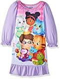 Daniel Tiger Neighborhood Toddler Girl's Purple Character Nightgown, Gown (2T)