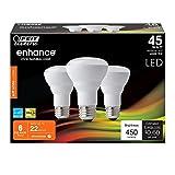 (6-Pack) Feit LED Dimmable R20 Soft White High Performance Light Bulb, 450-Lumen, 2700K, 45-Watt Equivalent, E26 Base, CRI 90+ (Soft White)