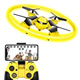 HASAKEE Q8 FPV Drone with HD Camera and Night Light,RC Drones for Kids Quadcopter with Altitude Hold Gravity Sensor and Gesture Control,Gift Toy for Boys and Girls