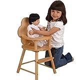 Sturdy Hardwood Doll High Chair 30' H.