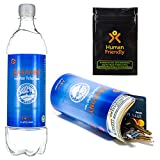 PartyBottle Diversion Safe Bottle Stash Can w/Smell-Proof Stash Bag by HumanFriendly - Ultra-Discrete, Authentic Looking BPA-Free Water Bottle Stash Container Includes Sound-Proof Bag