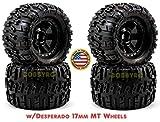 ProLine Trencher X 3.8' Tire 1/2' Offset (4)(M2) w/Desperado 17mm Wheels T-Maxx 3.3 E-Maxx Brushless Revo 3.3,Summit