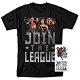 Justice League Movie Join The League DC Comics T Shirt (Small)