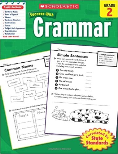 Descargar PDF Gratis Scholastic Success with Grammar, Grade 2
