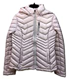 Nautica Quilted Chevron Packable Lightweight Puffer Coat Jacket Coat Pink Soft Blush (XS)