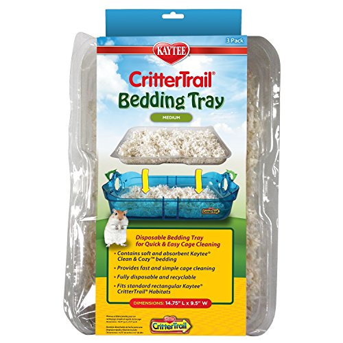 Kaytee CritterTrail Hamster Bedding Trays