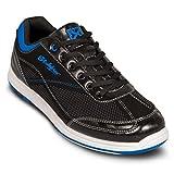 KR Strikeforce Bowling Shoes Mens Titan Bowling Shoes- M US, Black/Royal, 7