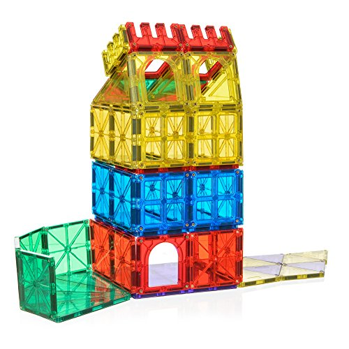 Building Toys For Little Boys : My little architect magnetic tiles for kids piece d