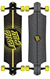 Santa Cruz Impact Drop Down Cruzer Complete Skateboard, Assorted, 40in' L x 10in' W