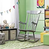 Rocking Chair for Baby Nursery - Grey
