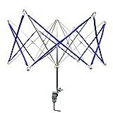 DYWISHKEY Umbrella Yarn Swift Yarn Winder - Hand Operated Knitting Winder Tools, Wool String Winder Holder Machine, Metal Hank Yarn Winder(17.1 x 19.1 x 20.9 inches)