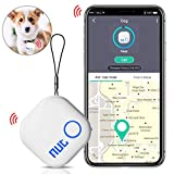 DinoFire Key Finder, Phone Finder Item Finder with Bluetooth Replaceable Battery Smart Tracker Locator - White