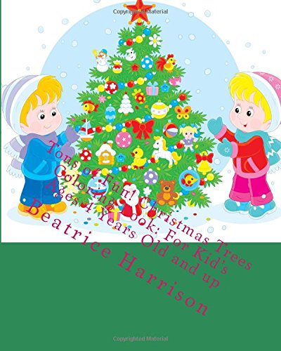 Tons of Fun! Christmas Trees Coloring Book
