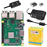 CanaKit Raspberry Pi 3 B+ (B Plus) with 2.5A Power Supply (UL Listed)