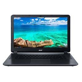 (Renewed) Acer Flagship CB3-532 15.6 inches HD Premium Chromebook – Intel Dual-Core Celeron N3060 up to 2.48GH.z, 2GB RAM, 16GB SSD, Wireless AC, HDMI, USB 3.0, Webcam, Chrome OS