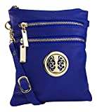 Mia K. Farrow Women's Trios Crossbody Handbag, Royal Blue