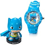 DC Comics Little Mates Harley Batman WHAK! Watch And Figurine Set