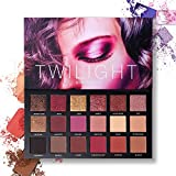UCANBE Ultra Pigmented Eyeshadow Palette 18 Colors Matte Shimmer Glitter Eye Shadow Palettes Waterproof Metallic Mineral Rose Gold Beauty Makeup Pallet Set