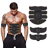 ABS Stimulator,Abdominal Muscle,ABS Trainer Body Toning Fitness Toning Belt ABS Fit Weight Muscle Toner Workout Machine for Men & Women