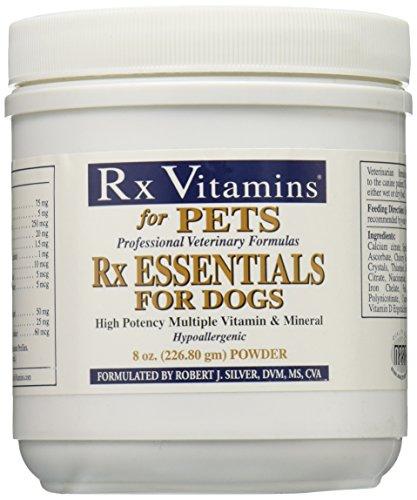 Rx Vitamins Essentials for Dogs - Vitamin & Mineral Multivitamin - Supports Immune System Digestive Health & Bone Health - Powder 8 oz/226.80g