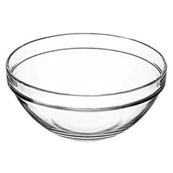 Microwave glass bowl
