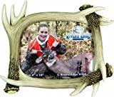 River's Edge Realistic Looking Antler Photo Frame, 8 X 10-Inch