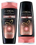 L'Oreal Paris Smooth Intense Ultimate Straight Bundle: Straightening Shampoo & Conditioner, 12.6 Ounce Each
