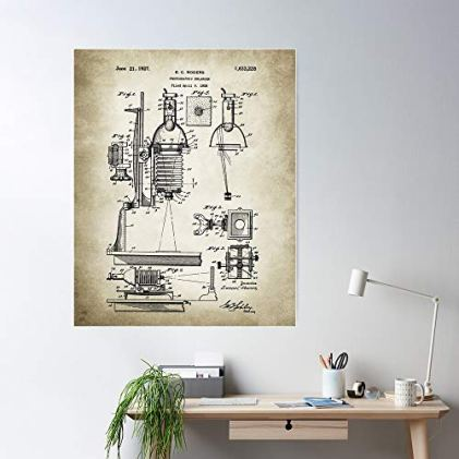 SARAHSILVA-Photographer-Camera-Hobby-Art-Enlarger-Patent-Photo-Artwork-I-S-Poster-for-Home-Decor-Wall-Art-Print-Poster
