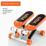 Steppers-for-Exercise-Portable-Home-Fitness-Room-Men-and-Women-Sport-Mode-Climbing-Aerobic-Stepping-with-LCD-Display-and-Resistance-Band-Whole-Body-Stair-Steppers-Orange-Standard-Style