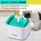 PARNER-Pet-Water-Fountain-25L-Flower-Pet-Dispenser-Super-Quiet-Automatic-Drinking-Water-Bowl-for-Cat-Dog