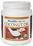 Healthworks Coconut Oil, Organic Extra Virgin Cold-Pressed,...