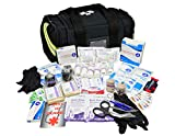 Lightning X Value Compact Medic First Responder EMS/EMT Stocked Trauma Bag w/Basic Fill Kit A - Black