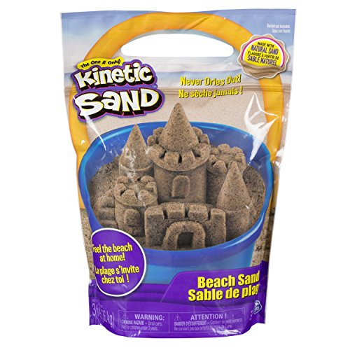 Kinetic Sand, 3lbs Beach Sand for Ages 3 & Up (Packaging May Vary)