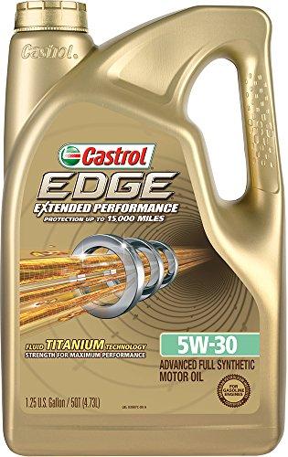 Castrol 03087 EDGE Extended Performance Full Synthetic Motor Oil