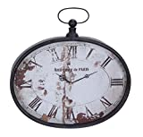 Deco 79 53305 Metal Wall Clock