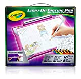 Crayola Light-Up Tracing Pad Pink, Coloring Board For Kids, Gift, Toys for Girls, Ages 6, 7, 8, 9, 10