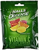 Halls Defense Assorted Citrus Cough Drops With Vitamin C, 180 ct