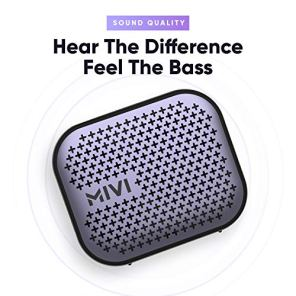 Mivi-Roam-2-Wireless-Bluetooth-Speaker-5W-Portable-Speaker-with-Studio-Quality-Sound-Powerful-Bass-24-Hours-Playtime-Waterproof-Dual-Pairing-Bluetooth-50-and-in-Built-Mic-with-Voice-Assistance