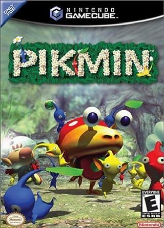 Dieses Bild zeigt das Cover von Pikmin der GameCube Fassung