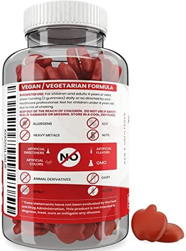 Vegan Apple Cider Vinegar Gummy Vitamins - 2X Strength for Kids, Adults - Option to Apple Cider Vinegar Capsules, Pills, Tablet - Detox, Cleanse, Weight Loss - ACV Gummies with Mother - 90, Non-Sticky 4