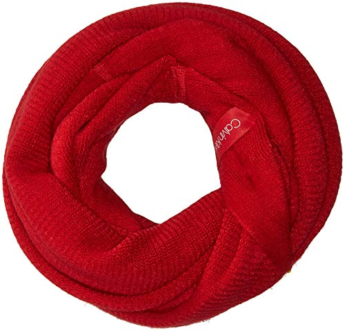 Calvin Klein Women's Basic Warp Knit Loop, rouge,...