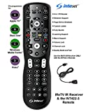 Inteset 4-in-1 Universal Backlit Remote & IReTV IR Receiver Combo. For Streamers that have no IR Receiver built in, including F-TV, Nvidia Shield (2nd Gen), Kodi, MCE and many other A/V Devices !SALE!
