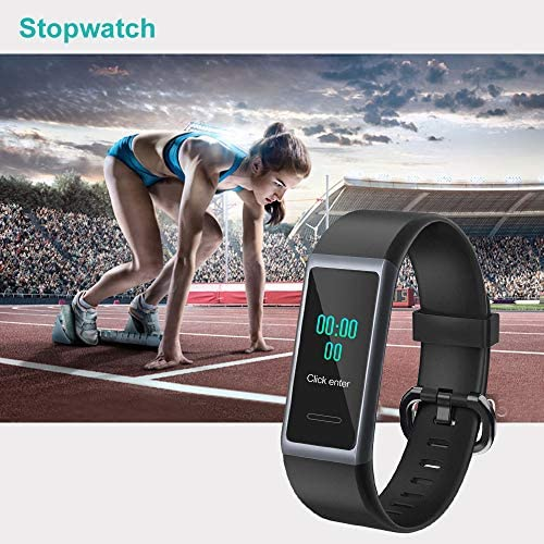 Willful Fitness Tracker 2020 New Version IP68 Waterproof, Fitness Watch Heart Rate Monitor with Calories/Step Counter Sleep Tracker Stopwatch Health Tracker Fit Watch for Men Women Kids 9