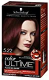 Schwarzkopf Color Ultime Hair Color Cream, 5.22 Ruby Red (Packaging May Vary)