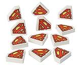 American Greetings Superman Erasers, 12-Count
