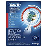 Oral-B Pro 5000 SmartSeries Power Rechargeable Electric Toothbrush with Bluetooth Connectivity, Amazon Dash Replenishment Enabled