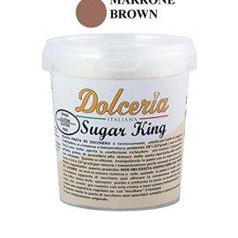 Pasta di Zucchero 1 KG - MARRONE