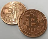 Authentic BITCOIN Commemorative Round Collectors Token - pure copper, collectors item. Cryptocurrency you can carry!