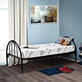 Customize Bed 6 Inch Gel Memory Foam Mattress with Bamboo Cover, Cot Size 30x74 for RV, Cot, Folding, Guest & Day Bed- CertiPUR-US Certified